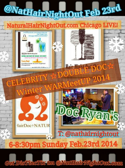 4 Days To Winter Fashion GLOW Register – Go Straight To Eventbrite Naturally for your DisTincTix ™ to @NatHairNightOut Chicago Live